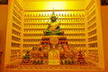 Emerald buddha image located at wat ma nee pai son tak thailand Stock Images