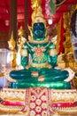 Emerald Buddha inside temple, Thailand