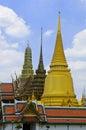 Emerald buddha temple bangkok thailand Royalty Free Stock Images