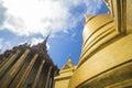 The emerald buddha temple wat phrakaew Royalty Free Stock Image