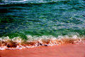 Emerald Green Beach Water Royalty Free Stock Photo