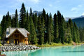 Emerald lake Royalty Free Stock Photo