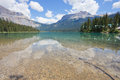 Emerald lake yoho national park bc in british columbia canada Stock Image