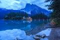 Emerald Lake Royalty Free Stock Photo