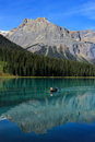 Emerald lake yoho national park brits colombia canada Stock Fotografie