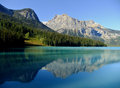 Emerald lake yoho national park brits colombia canada Royalty-vrije Stock Afbeelding
