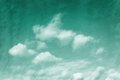 Emerald tinged sky Royalty Free Stock Images