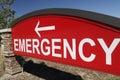 Emergency Sign Royalty Free Stock Photo