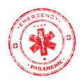 Emergency stamp Royalty Free Stock Photography