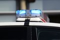 Emergency vehicle lighting Royalty Free Stock Photo