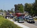 Emergency Vehicles Crime Scene