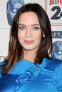 Emily blunt arriving at the bafta la awards season tea party beverly hills hotel beverly hills ca january Royalty Free Stock Images