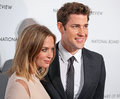 Emily Blunt and John Krasinski Royalty Free Stock Photos