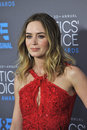 Emily blunt los angeles ca january at the th annual critics choice movie awards at the hollywood palladium Royalty Free Stock Photo