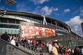 Emirate Stadium Royalty Free Stock Image
