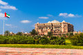 Emirates palace abu dhabi united arab emirates in Royalty Free Stock Photography