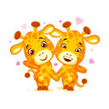 Emoji have date let s go out character cartoon friends Giraffe sticker emoticon Royalty Free Stock Photo