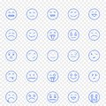 Emoji Icon set. 25 Vector Icons Pack