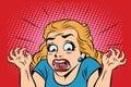 Emoji retro devil horror girl emoticons