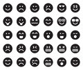 EMOJIS Black Icons