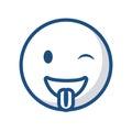Emoticon face icon