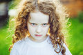 Emotional Child With Angry Exp...