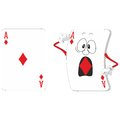 Emotional playing card set Stock Images