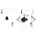 Emotional playing card set Stock Photos