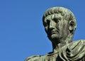 Empero Trajan, the conqueror Royalty Free Stock Photo
