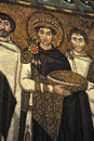 Emperor Justinian Stock Photography