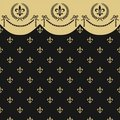 Empire seamless pattern Royalty Free Stock Images