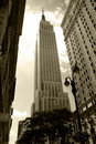 Empire State building Royalty Free Stock Photography
