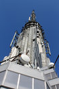 Empire State Building Antenna Stock Images