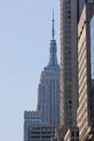 Empire state building i nyc Arkivfoto