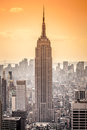 Empire state building an image of the in new york Royalty Free Stock Photography