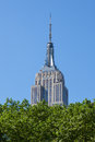 Empire state building in manhattan in new york city usa Stock Image