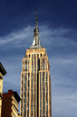 Empire state building in new york city Stock Image
