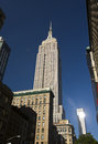 Empire state building new york city usa Stock Photo