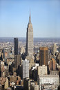 Empire State building, NYC Royalty Free Stock Images