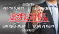 Employee motivation concept