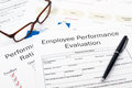 Employee performance evaluation Stock Photography
