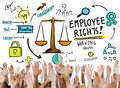 Employee Rights Employment Equality Job Hands Volunteer Concept Royalty Free Stock Photo