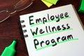 Employee Wellness program Royalty Free Stock Photo