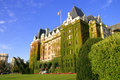 The empress hotel Stock Photography