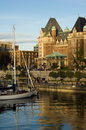 The empress hotel Stock Photos