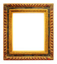 Empty antique frame Royalty Free Stock Images