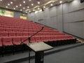 Empty Auditorium with Podium/Rostrum Royalty Free Stock Images