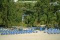 Empty Beach Resort in Grand Turk Royalty Free Stock Photo