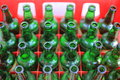 Empty Beer Bottles Royalty Free Stock Photo
