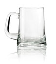 Empty beer mug Royalty Free Stock Photo